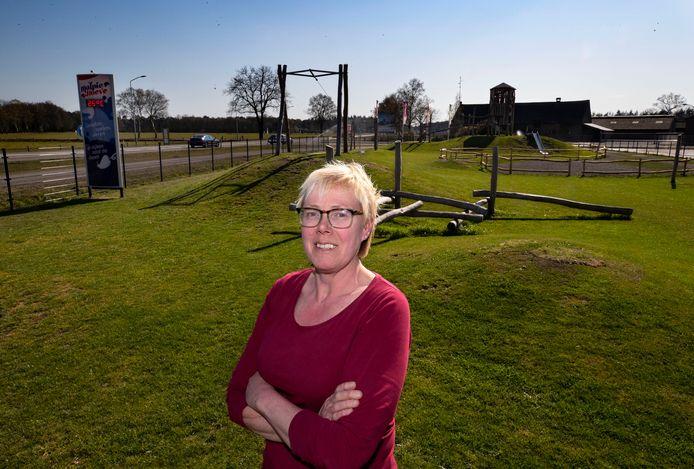 Francien Willems, mede-eigenaar van de Malpie Hoeve in Valkenswaard.