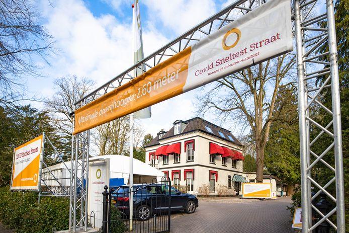 Het kantoor van Lead Healthcare in Baarn. Het bedrijf mag in opdracht van Stichting Open Nederland deze maand sneltesten uitvoeren voor evenementen.