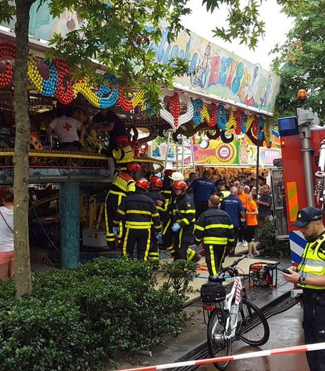 Slachtoffertje (3) van ongeluk op Tilburgse kermis maakt het beter, ouders bedanken hulpverleners