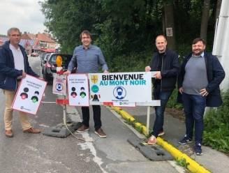 Mondmasker op openbaar domein van Zwarteberg hoeft niet meer