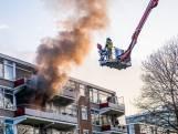 Appartement in Tilburg brandt volledig uit: vrouw ademt rook in