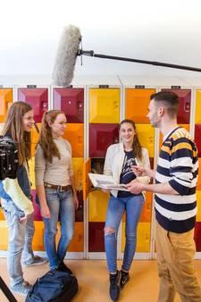 Leerlingen schitteren in soap: 'Die zoenscène was super awkward'