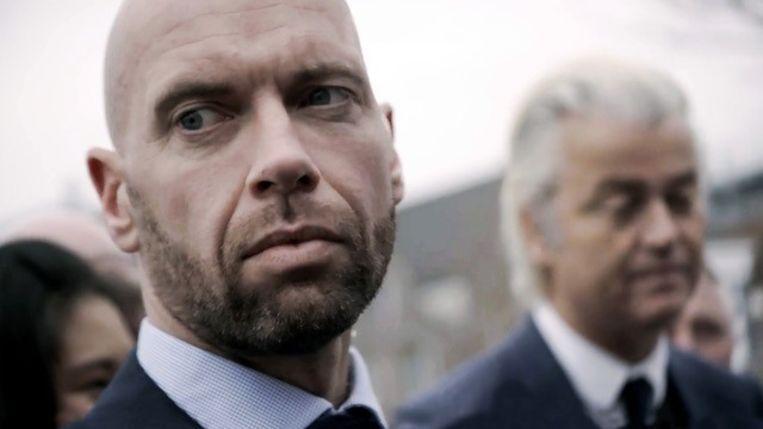 Michael, persoonsbeveiliger van Geert Wilders. Beeld Still uit documentaire De Beveiligers door Anneloek Sollart