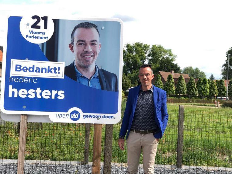 Schepen Frederic Hesters haalde het meeste stemmen voor het parlement.