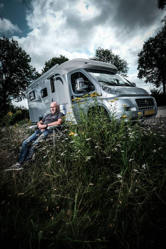 Campermakelaar Ronald Suselbeek.