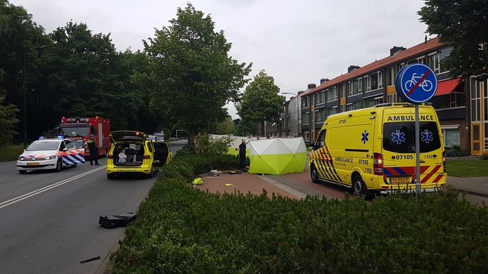 Het ongeval in Veenendaal.