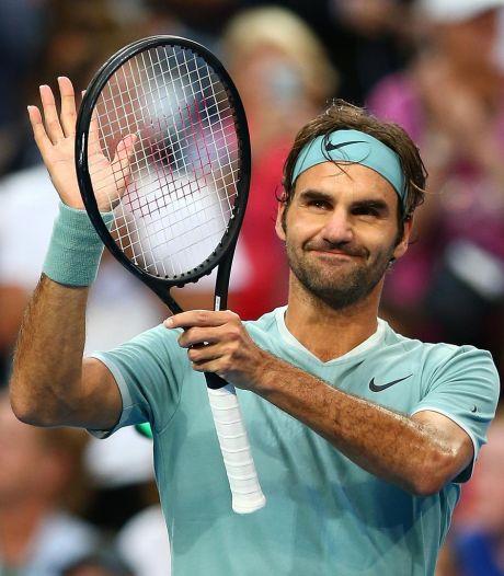 Hopman Cup: Federer domine Gasquet