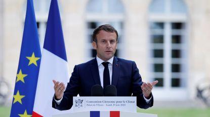 """Macron geeft gehoor aan burgerinitiatief en kondigt grootse klimaathervormingen aan: 15 miljard extra voor """"ecologische conversie"""", 'ecocide' wordt strafbaar"""
