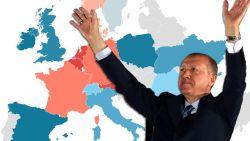 Nergens zo veel stemmen voor Erdogan als in België