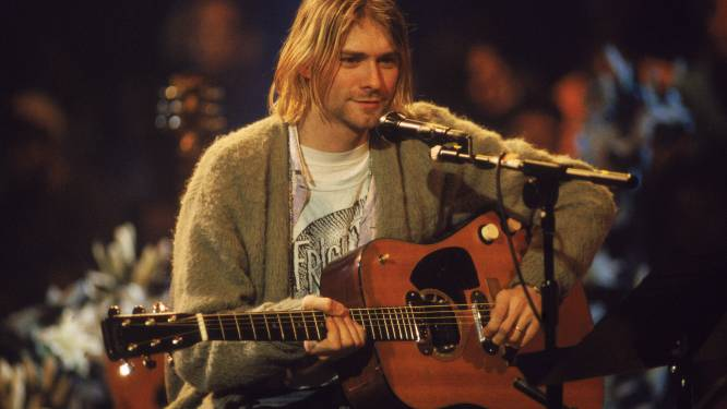 Iemand had 12.000 euro over voor zes haren van Kurt Cobain