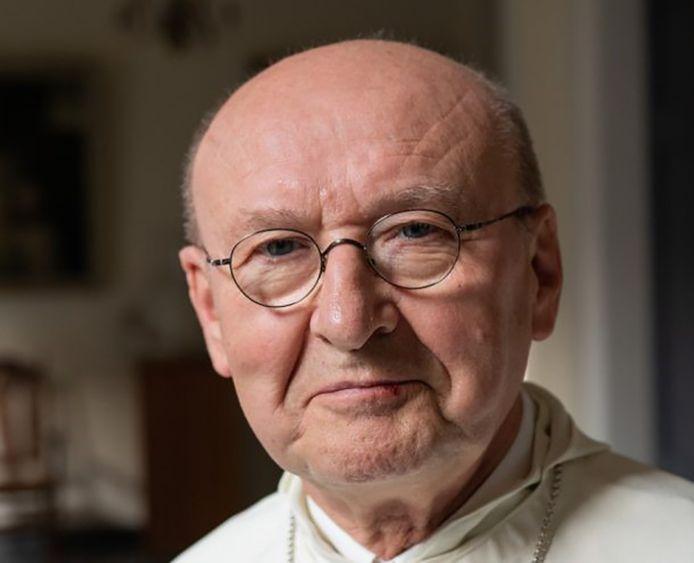 Abt Denis Hendrickx van de Abdij van Berne in Heeswijk.