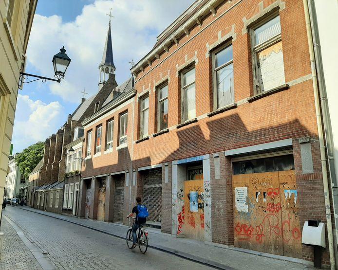 Leegstand in de Catharinastraat in Breda.