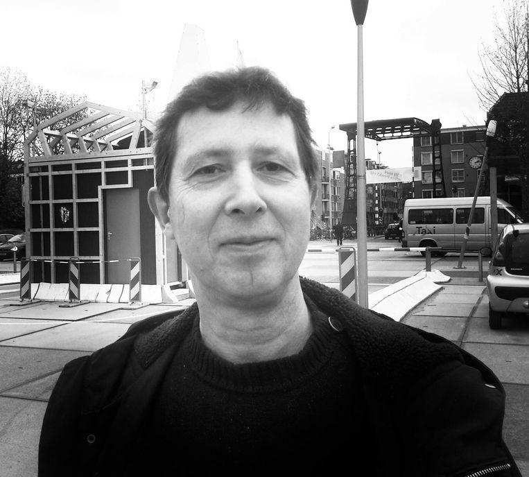 Eddy Appels. Wallenbewoner; bestuurslid van Wij-Amsterdam; redacteur D'Oude Binnenstad; voormalig lid denktank Amsterdam in Progress Beeld Privé
