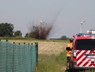 Dovo brengt Duitse mortier gecontroleerd tot ontploffing in Heule