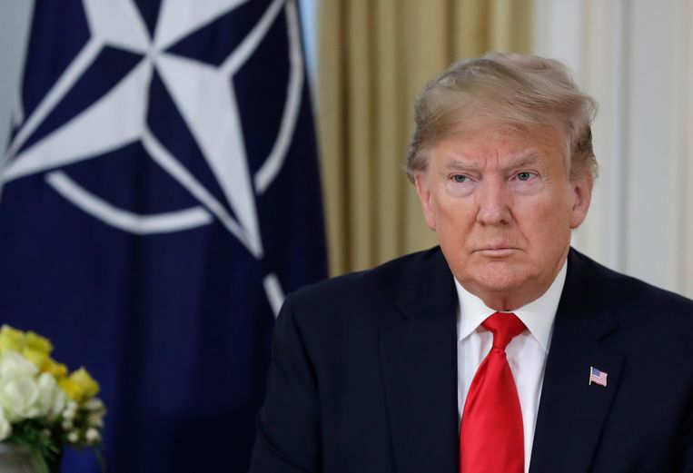 Amerikaans president Donald Trump. Beeld AP