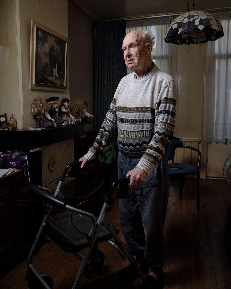 Piet Tjerks, 98 jaar Beeld Erik Smits