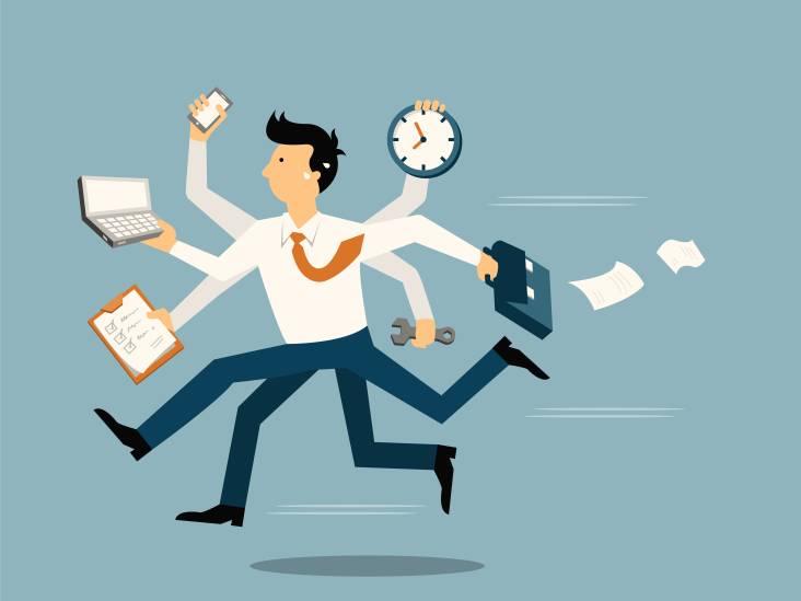 Denk je dat jij kan multitasken? Eigenlijk doe je iets heel anders