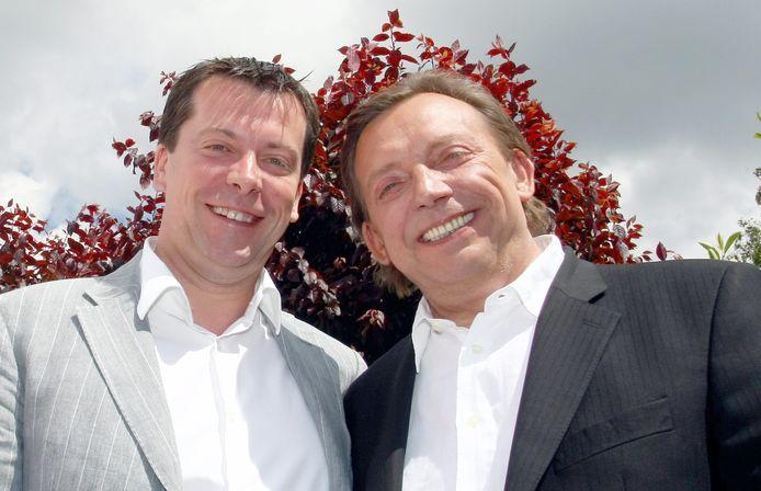 Frédéric et Michel Daerden (juin 2009)