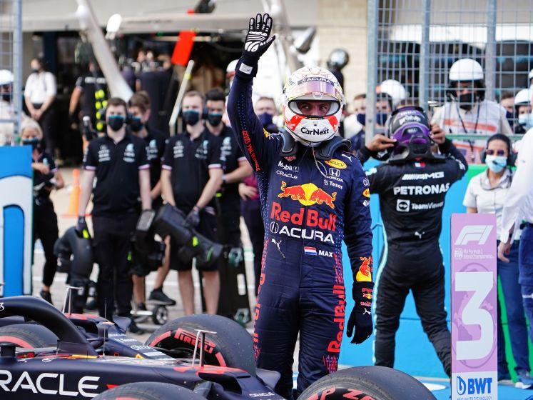 Verstappen doorbreekt hegemonie Mercedes en start op pole