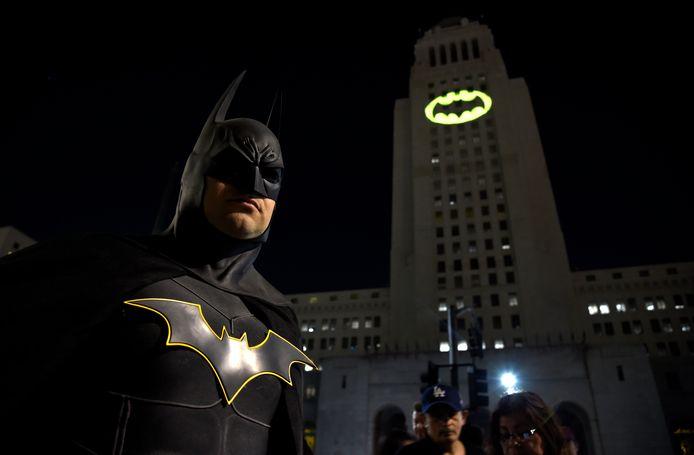 Of op het stadhuis van Los Angeles.