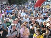 Daags na de tour: een samenkomst van wielrennen en feesten
