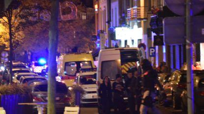 Klopjacht in Elsene afgelopen: gewapende man die restaurantgangers bedreigde geeft zich over