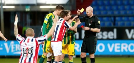 Rode kaarten en penalty's, maar geen winnaar in degradatiekraker Willem II-ADO