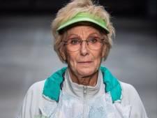 Nooit te oud om een nieuwe carrière te beginnen bewijst catwalkmodel en actrice Christine Visser (75)