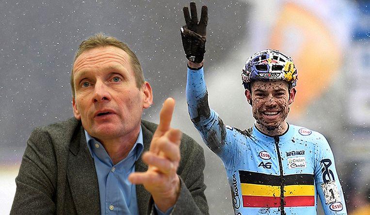 De reactie van papa Adrie van der Poel over de prestatie van Wout Van Aert doet stof opwaaien.