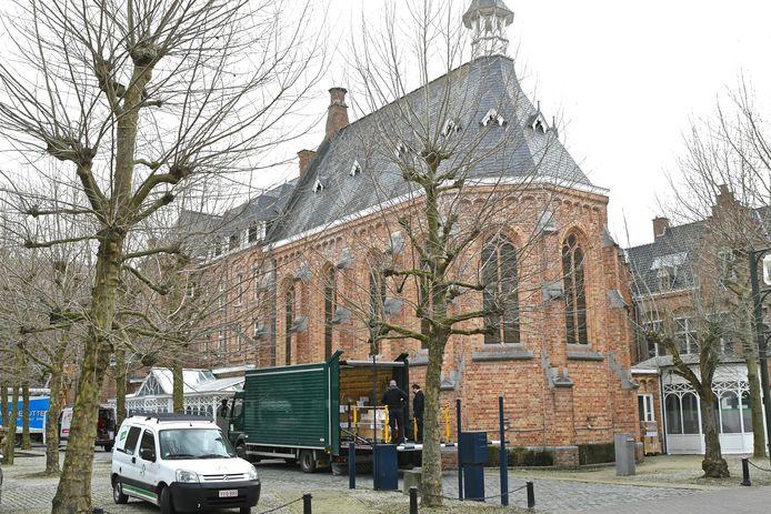 Ook in het vroegere retraitehuis langs de Delaerestraat wordt een deel van de dienstverlening ondergebracht.