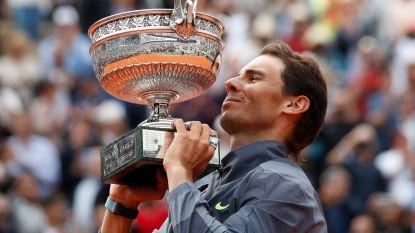 Rafael Nadal wint voor twaalfde (!) keer Roland Garros