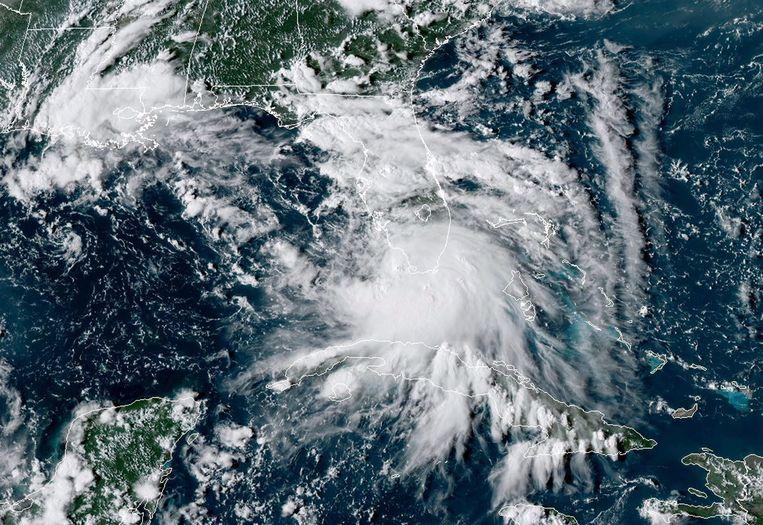 Storm Sally. Beeld AFP