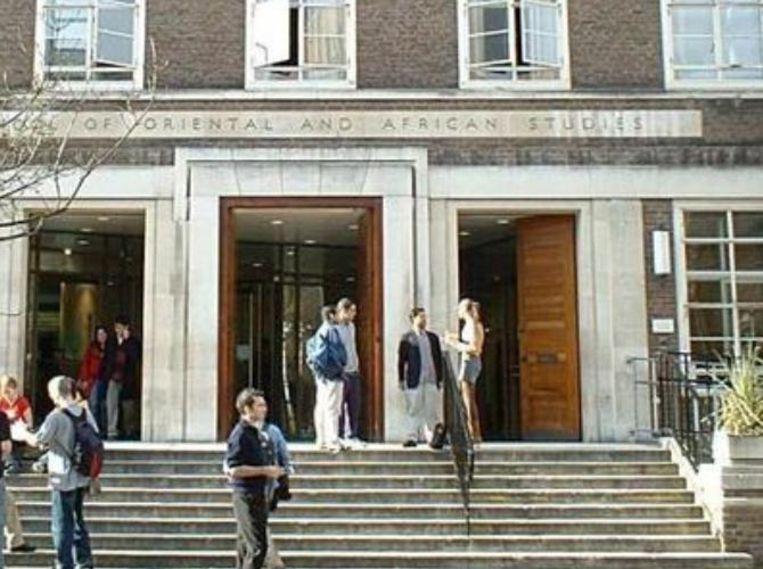 The School of Oriental and African Studies in Londen Beeld cc