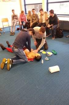 Reanimatie nog geen prioriteit op scholen in Zuidoost-Brabant