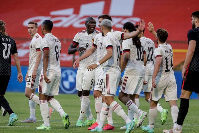 Un match amical rassurant à six jours du premier match des Diables Rouges à l'Euro.