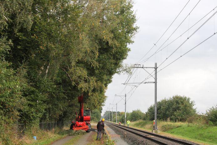 Er rijden geen treinen tussen Heino en Raalte.