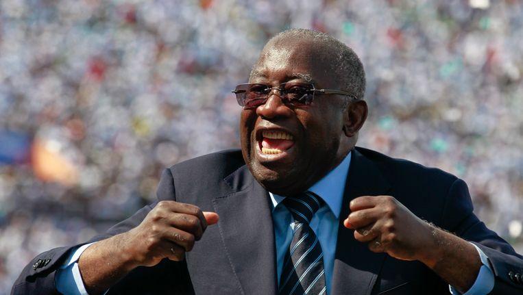 Laurent Gbagbo Beeld EPA