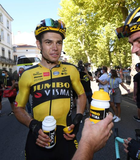 Van Aert over Dumoulin: 'Ik hoop dat dit een beslissing is om sterker terug te komen'