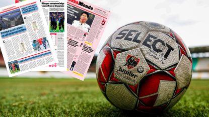 """Europese media over stopzetten Belgische competitie: """"In de Premier League wordt zoiets financieel een moeilijk verhaal"""""""