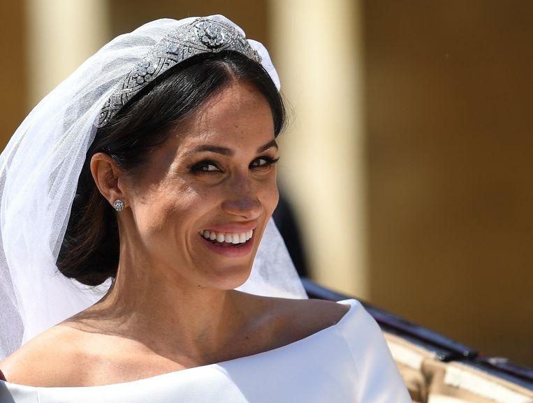 De hertogin van Sussex. Beeld Photo News