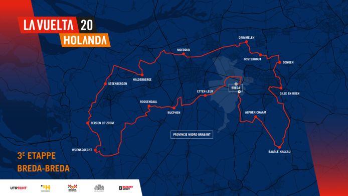 De derde etappe: Breda - Breda.