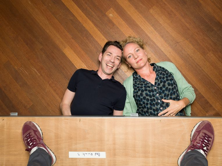 Alwin Pulinckx en Janni Goslinga. Beeld Ivo van der Bent