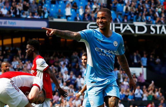 Bij Manchester City is Gabriel Jesus gewoon inzetbaar.