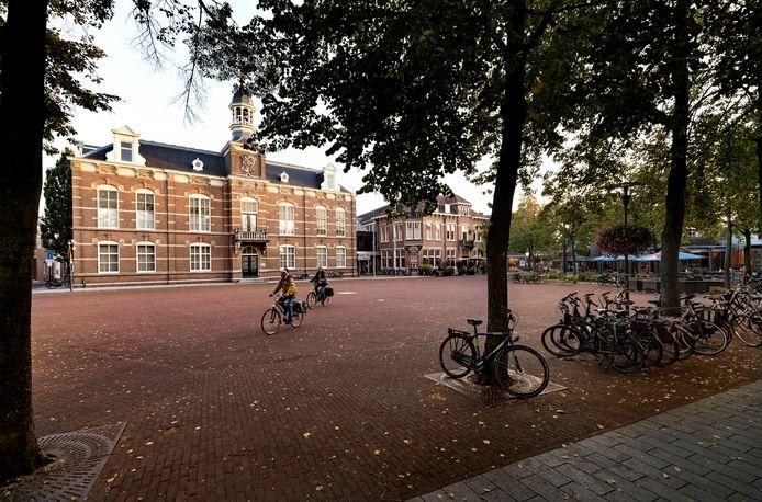 Het gemeentehuis aan de Markt in Deurne (foto ter illustratie).
