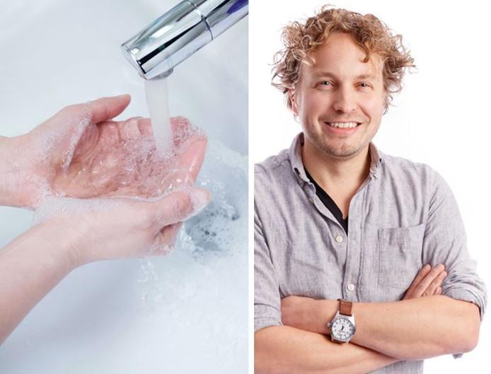 Handen wassen: dat sommige mensen er nu pas aan denken, verbaast columnist Niels Herijgens niet.