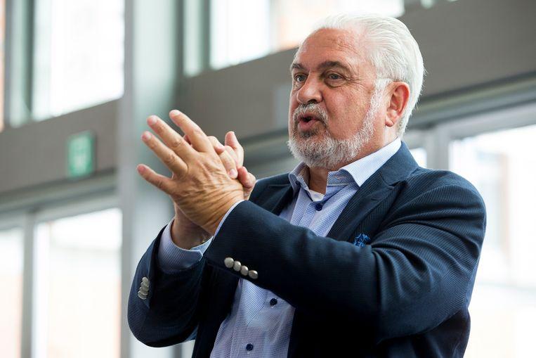 Fernand Huts, CEO van Katoen Natie Beeld BELGA