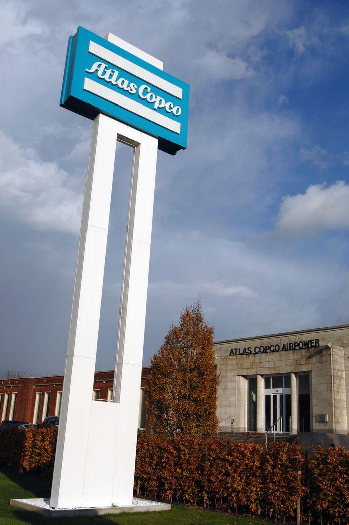 De fabriek Atlas Copco blijft bereikbaar voor wie daar moet zijn, maar op de Atomiumlaan is er de hele week hinder door asfalteringswerken.