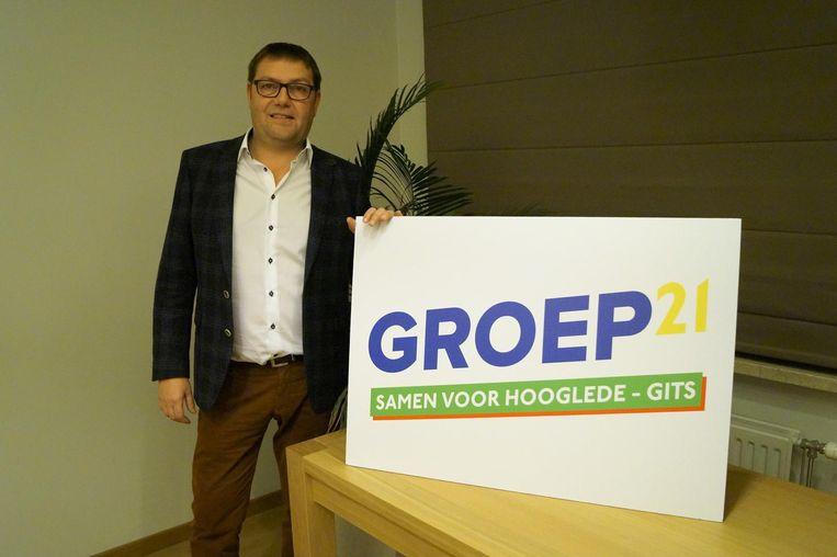 Kristof Pillaert wordt de lijsttrekker van de nieuwe partij.