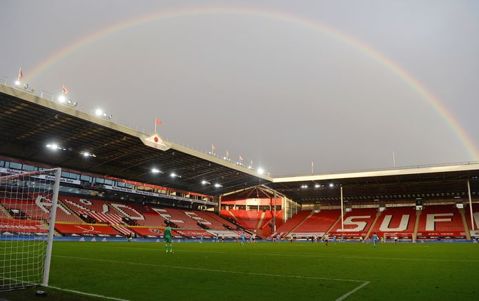 Bramall Lane, thuishaven van Sheffield United.
