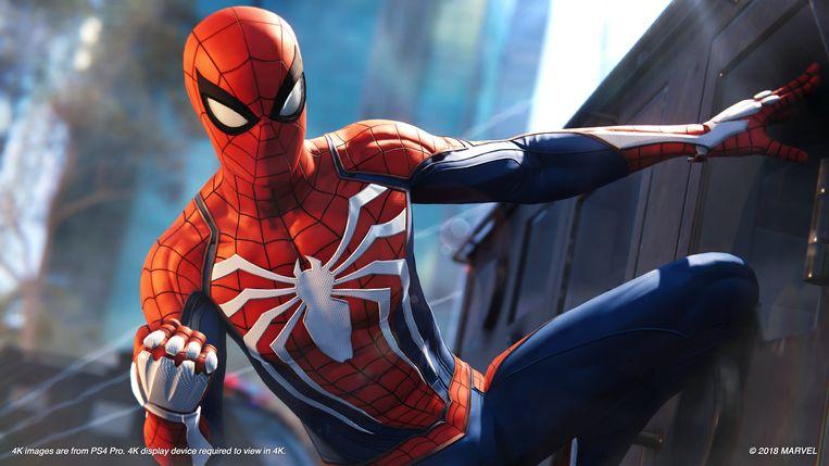 De open wereld en de personages van 'Marvel's Spider-Man' laten wat te wensen over. Beeld Sony PlayStation
